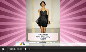 Noir by Lazaro on the Today Show
